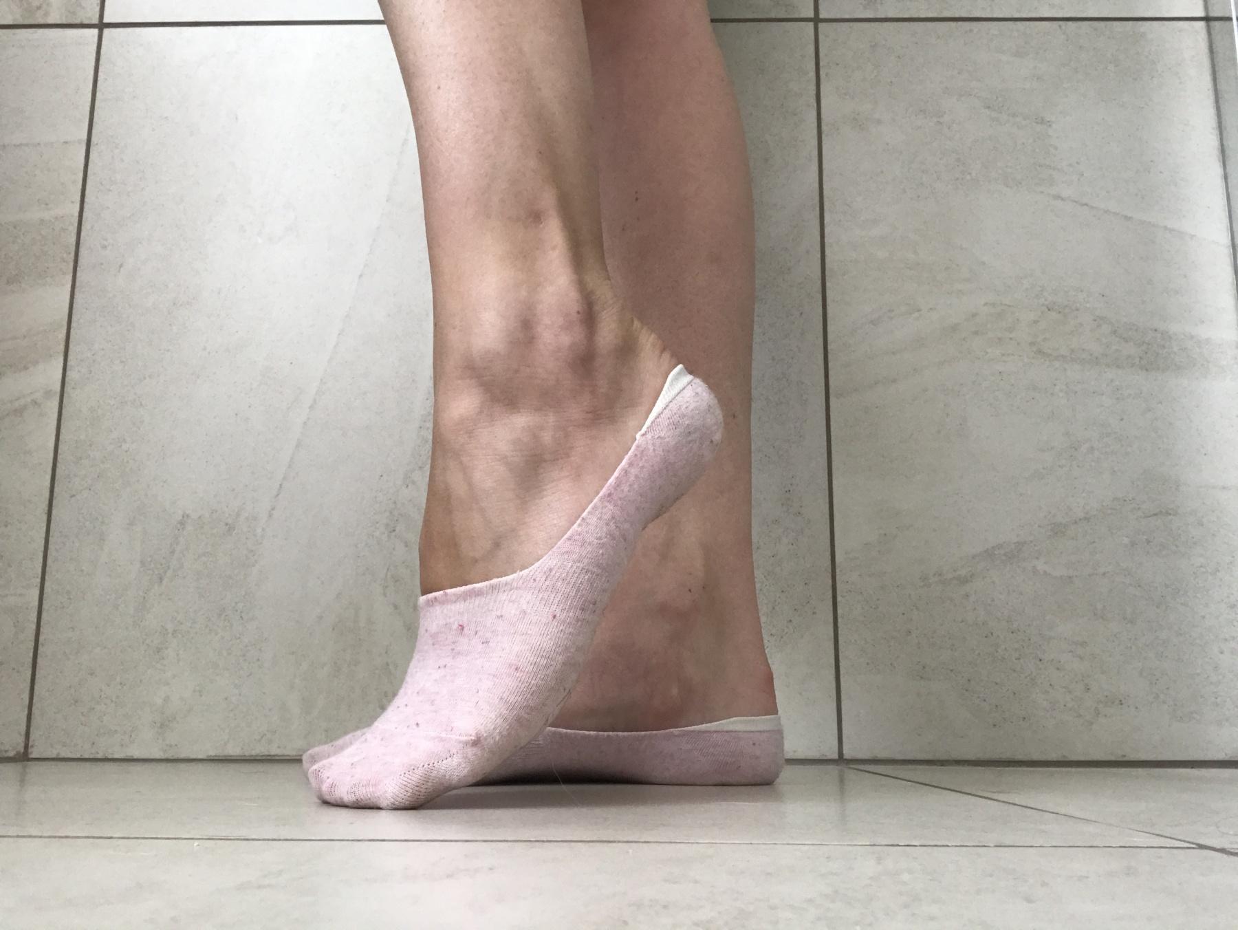Delicate pink socks - 1