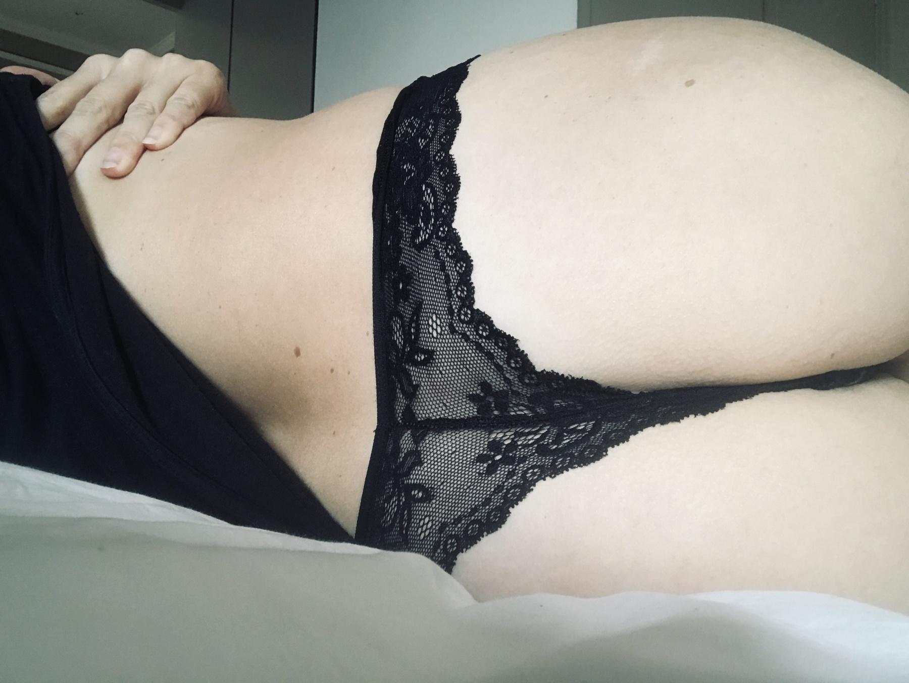 Dirty Black lace Brazilian