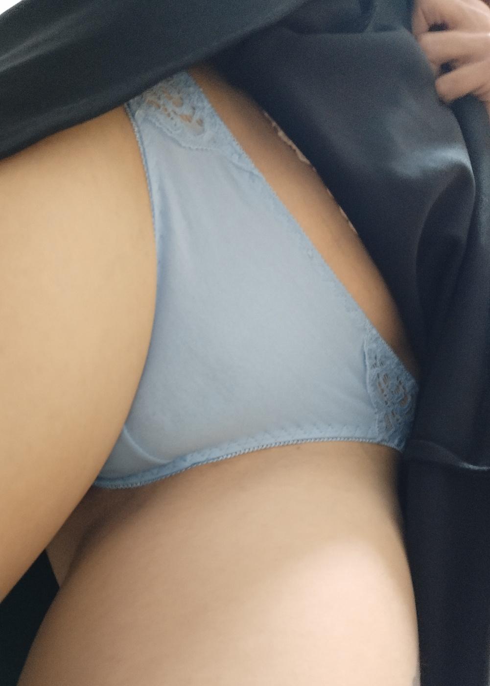 Tanga azul mojado (VENDIDO) - 1