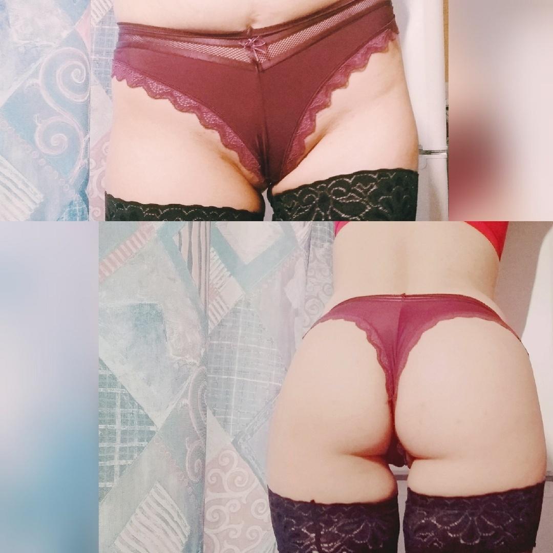 Purple sexy panties