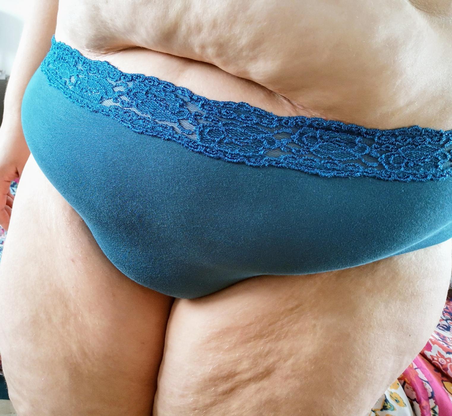 BBW juicy panties