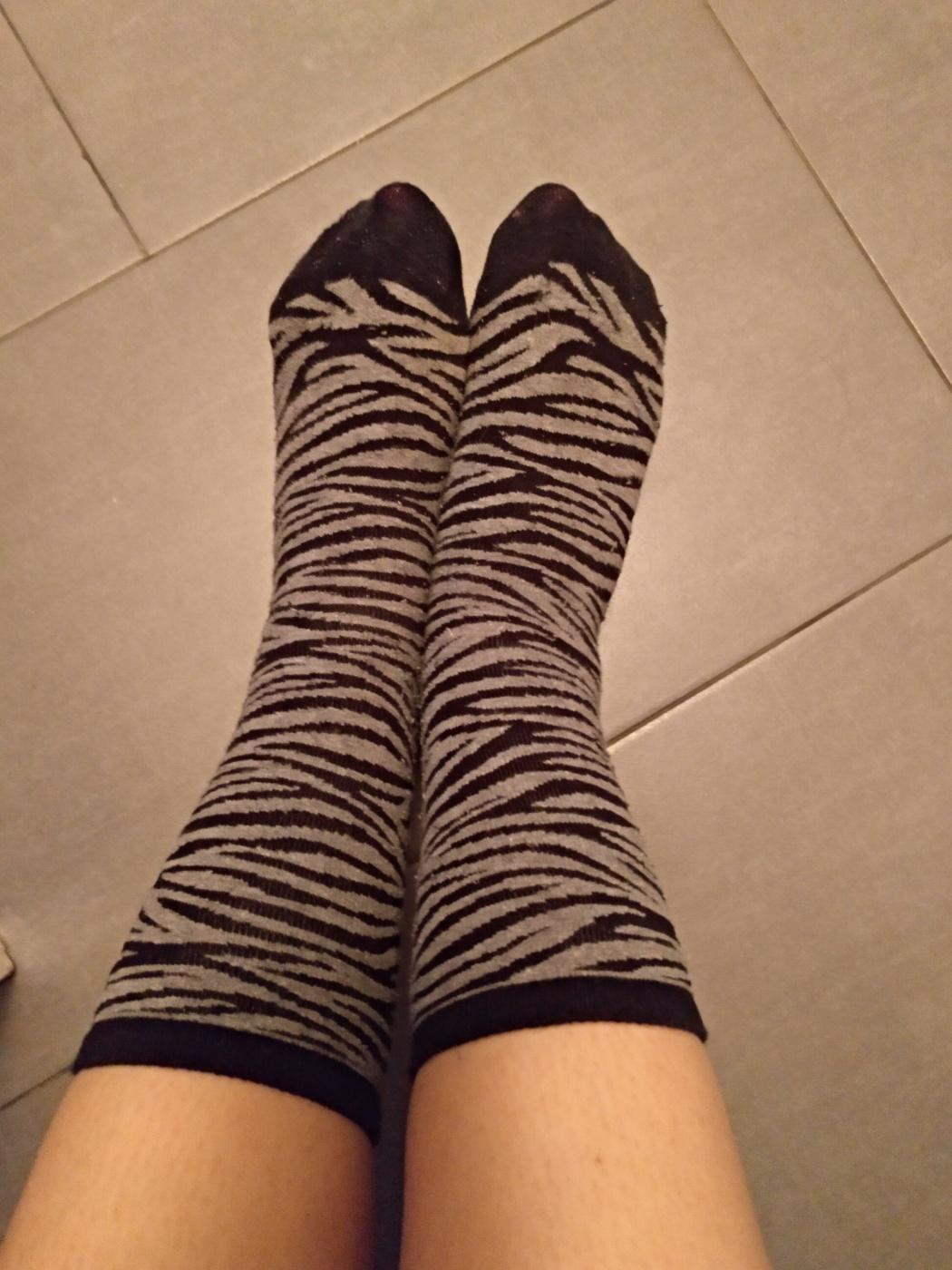 Calcetines zebra