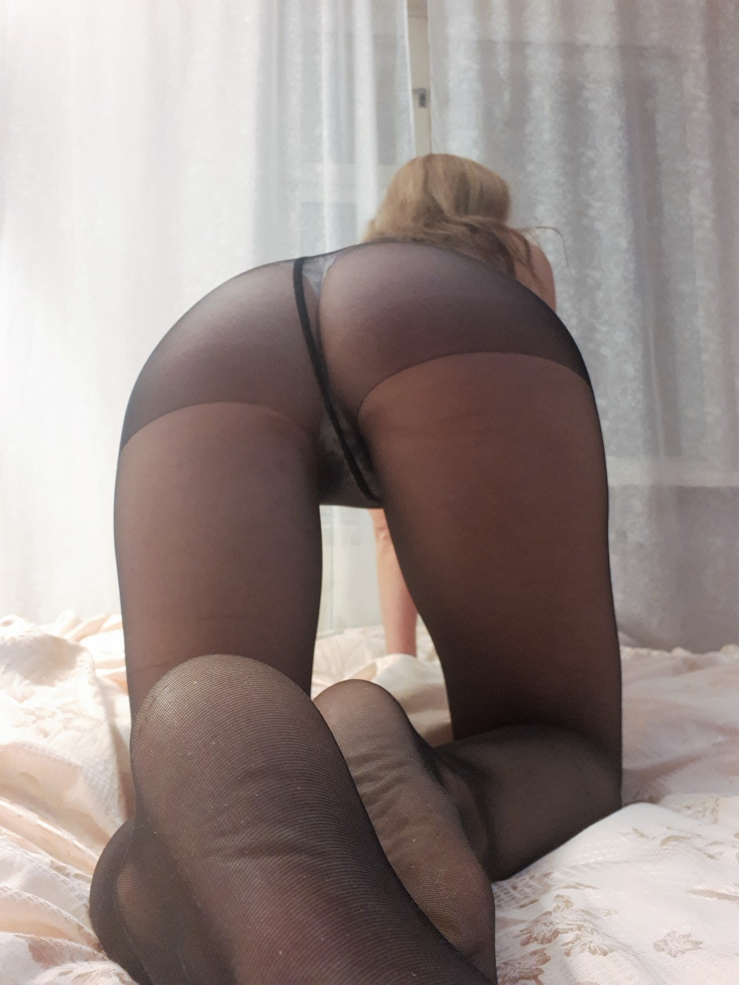 Black smelly nylons, shipping in… - 1