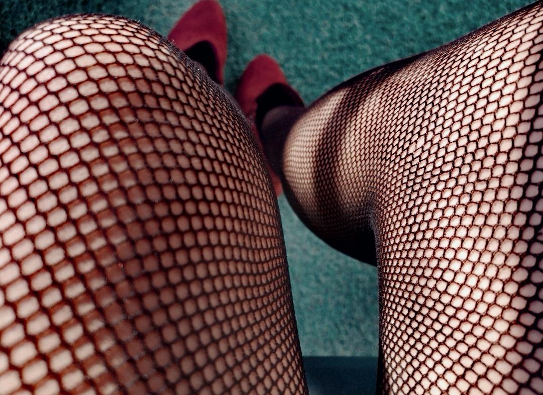 Medias de rejilla sexys (Ely)