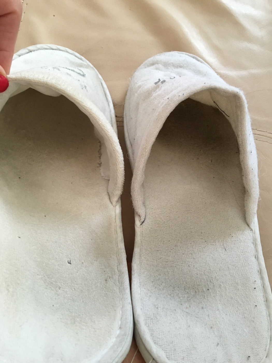 My well worn slippers - 1