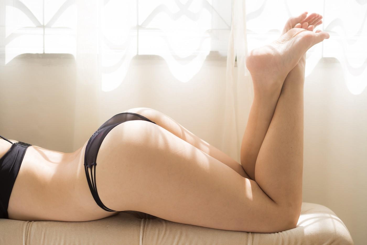 Foto de bragas usadas por chica en Panty.com.